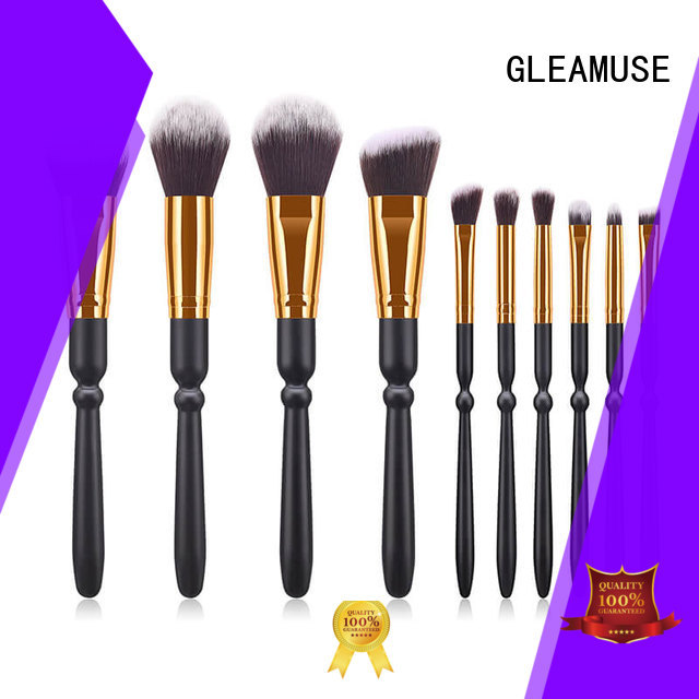 GLEAMUSE Wholesale beauty professional brush set for business for women