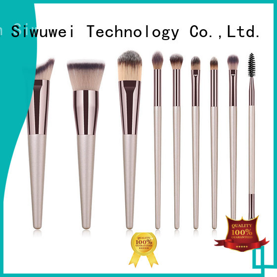 GLEAMUSE rainbow makeup brushes factory for makeup artist