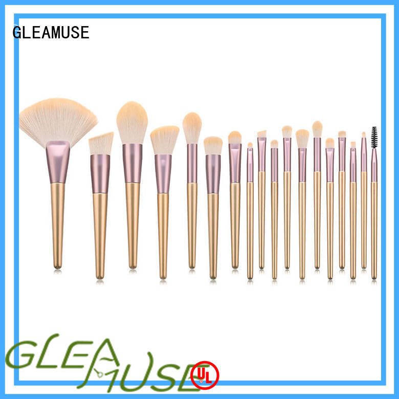 GLEAMUSE full eyeshadow brush set for business for Beauty shop