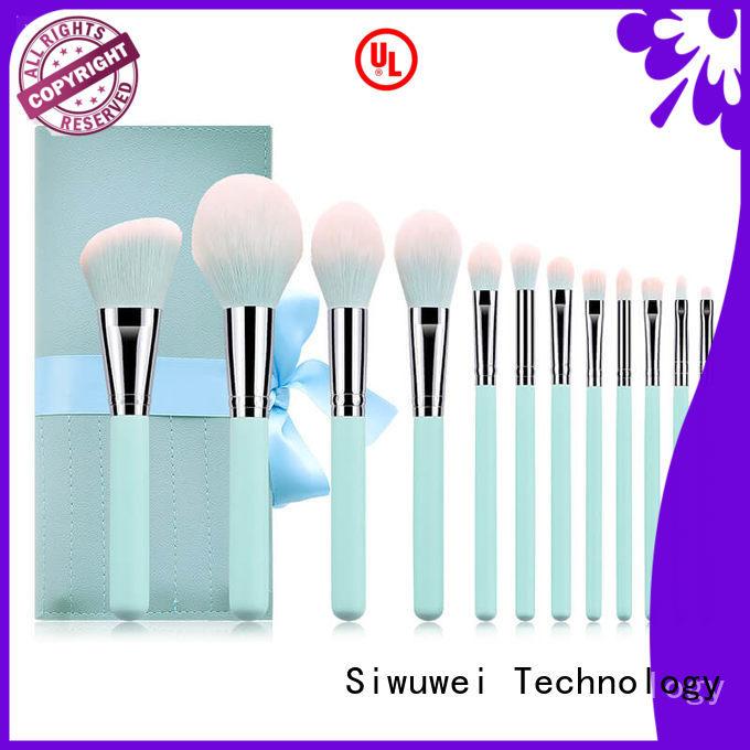 GLEAMUSE New biggest makeup brush set factory for makeup artist