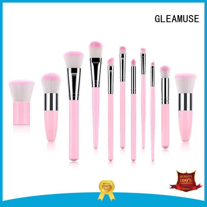 GLEAMUSE good and cheap makeup brushes for business for makeup artist