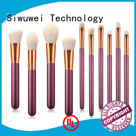 GLEAMUSE Custom good cheap makeup brush sets for business for makeup artist
