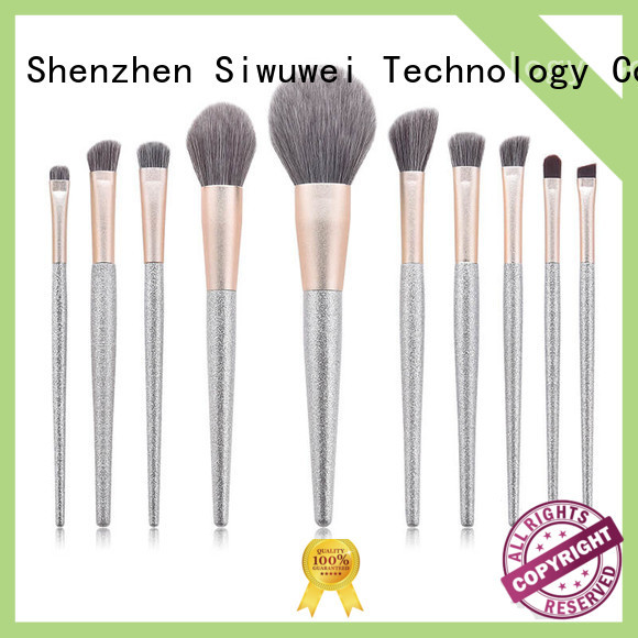GLEAMUSE Latest cute makeup brush set manufacturers for women