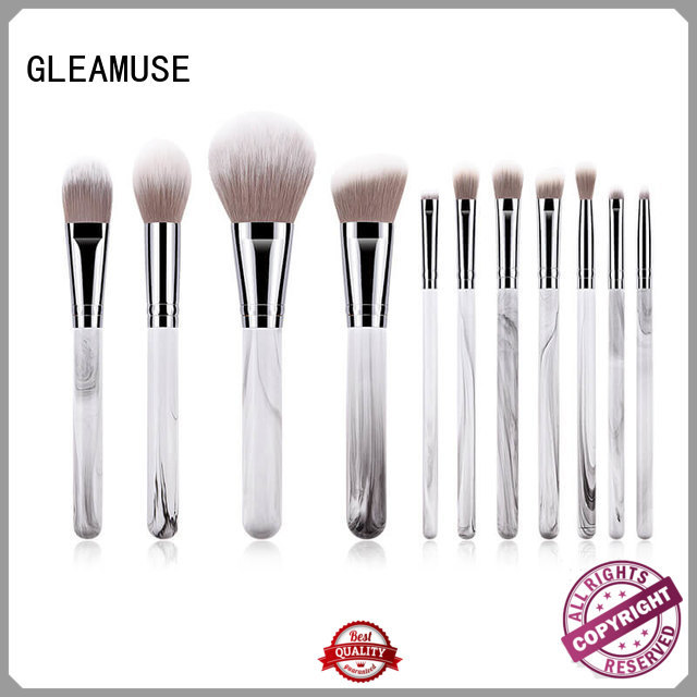 GLEAMUSE really pretty makeup brushes manufacturers for makeup artist