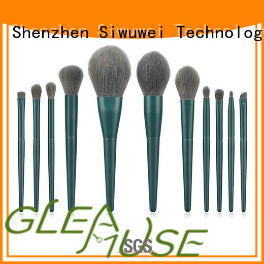 GLEAMUSE antibacterial makeup brushes factory for Beauty shop