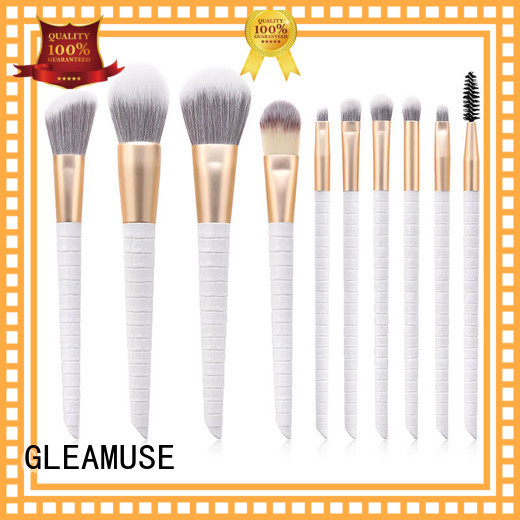 GLEAMUSE makeup brush set recommendations company for Beauty shop