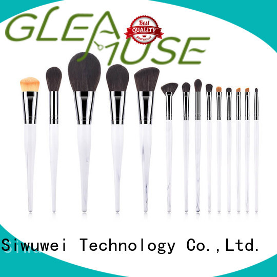 GLEAMUSE Wholesale buy cheap makeup brushes for business used for face painting
