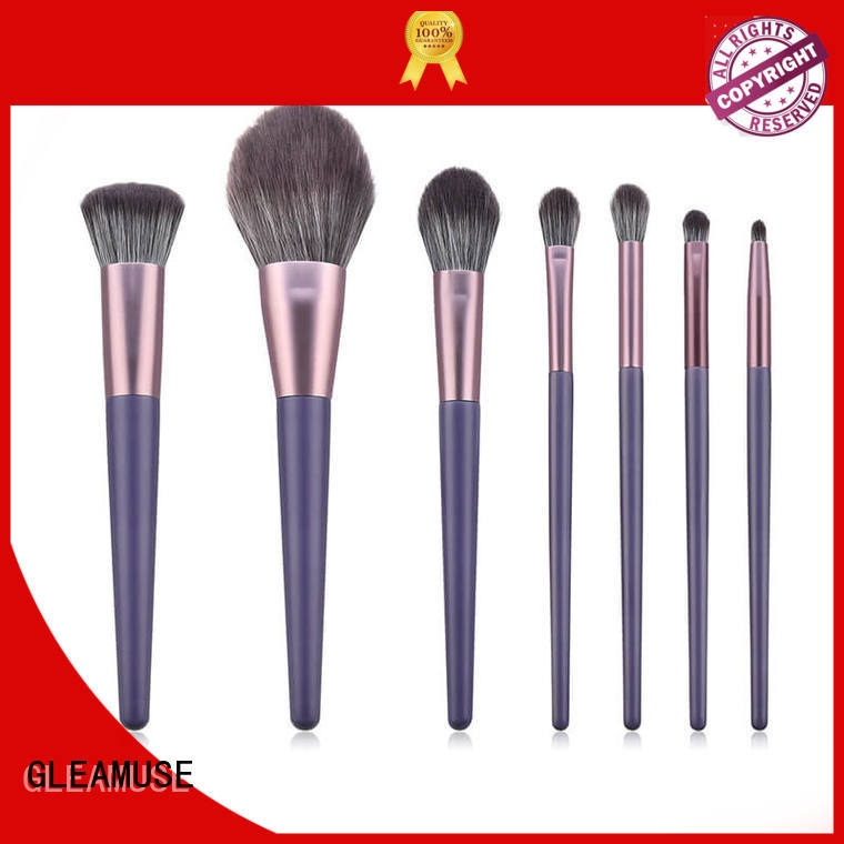 GLEAMUSE top rated makeup brush sets manufacturers for Beauty shop