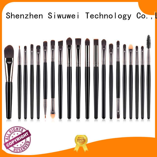 GLEAMUSE rainbow makeup brushes Suppliers for women