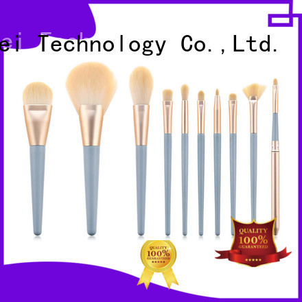 GLEAMUSE simple makeup brush set manufacturers for Beauty shop