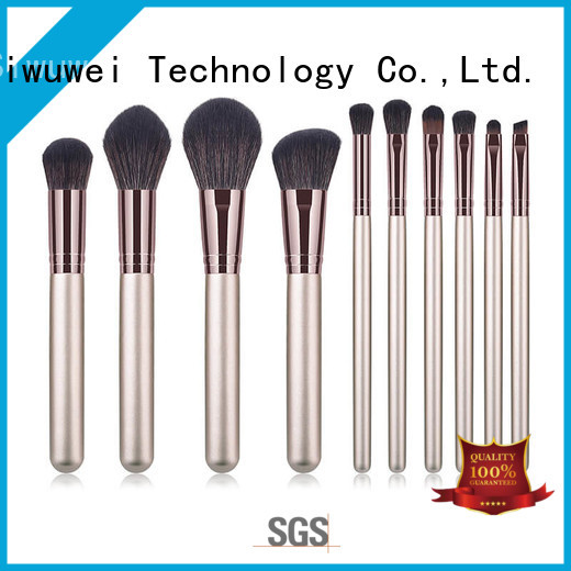 Latest nice cheap makeup brushes factory for Beauty shop