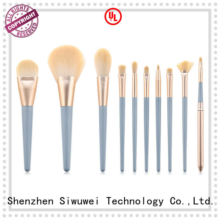 GLEAMUSE biggest makeup brush set company for women