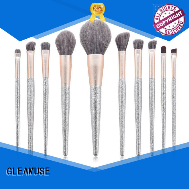 New oval makeup brush set uk company used for face painting