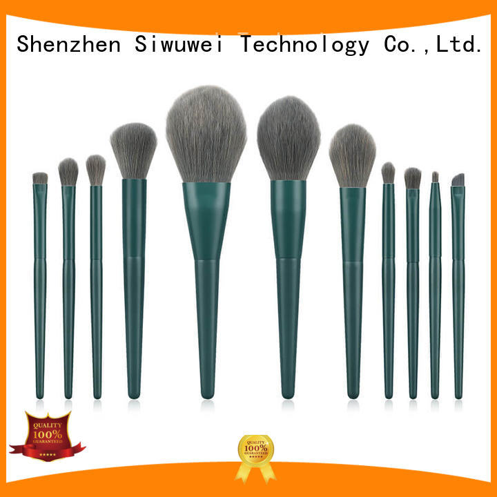 GLEAMUSE Wholesale natural makeup brushes for business for women