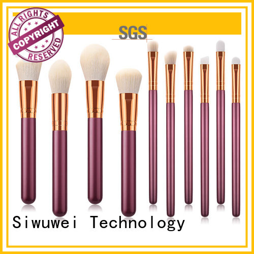 GLEAMUSE soft makeup brush set company for Beauty shop