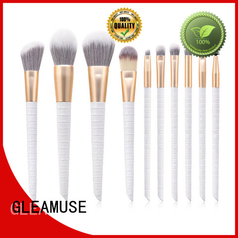 GLEAMUSE Custom set of cosmetic brushes company for Beauty shop