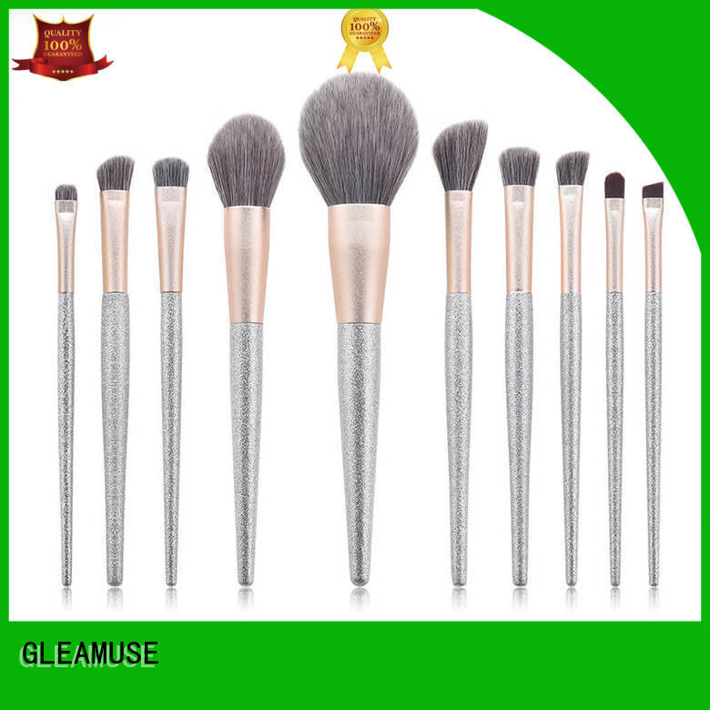 GLEAMUSE full set professional makeup brushes Supply used for face painting