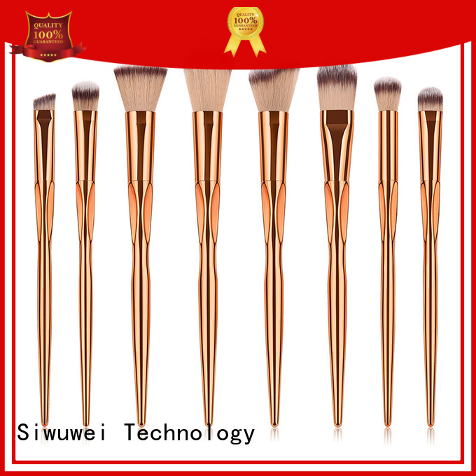 GLEAMUSE collection of makeup brushes Suppliers for women
