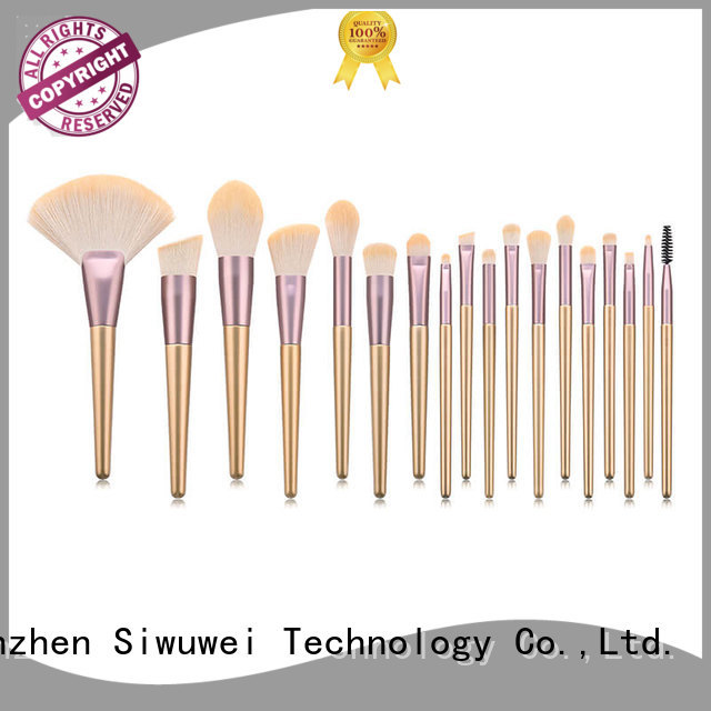 GLEAMUSE circle makeup brush Supply used for face painting