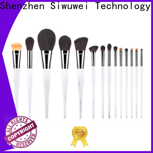GLEAMUSE Latest best basic makeup brush set manufacturers used for face painting