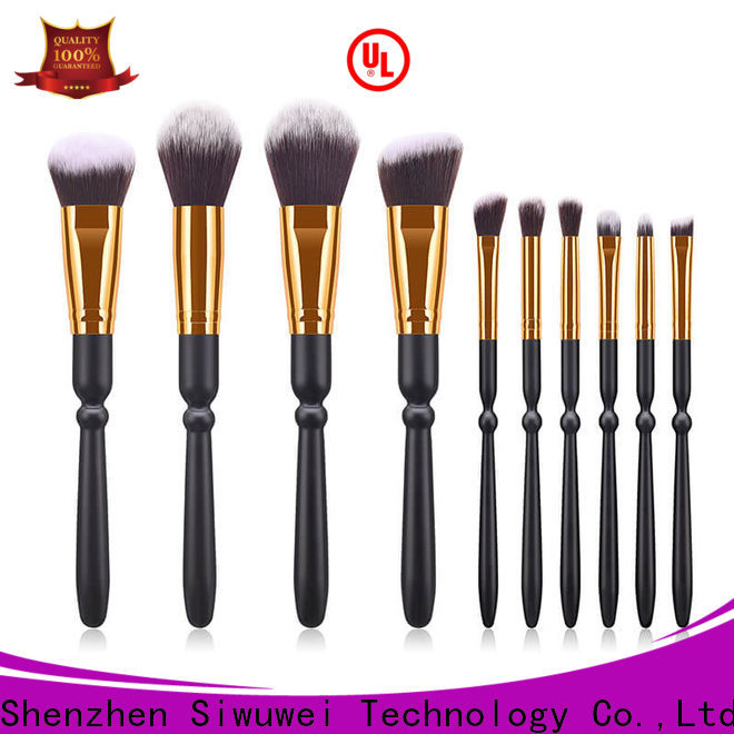 GLEAMUSE Wholesale cheap face brush sets Supply used for face painting