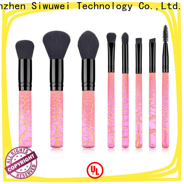 GLEAMUSE Wholesale real makeup brushes company for Beauty shop