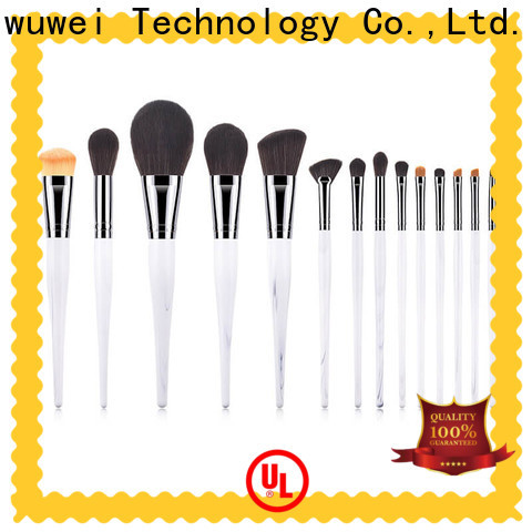 GLEAMUSE cool makeup brush sets factory for Beauty shop