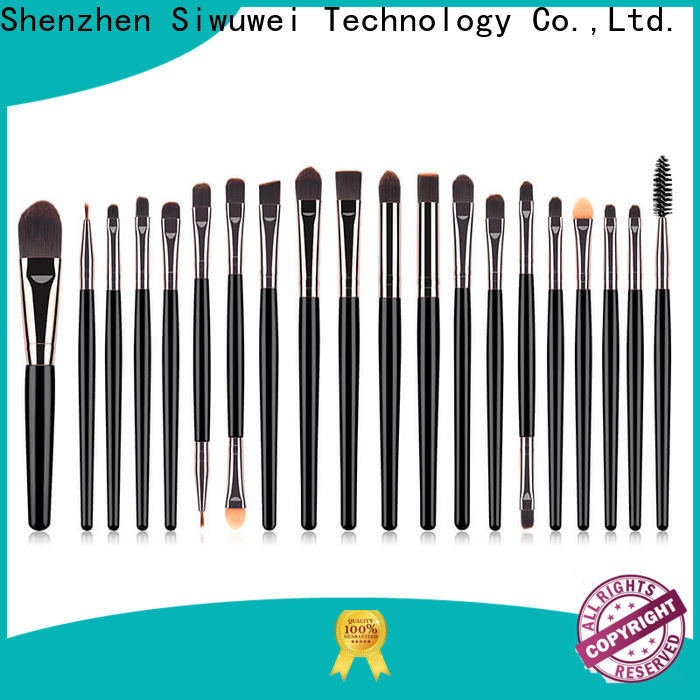 GLEAMUSE gold makeup brush set for business for Beauty shop