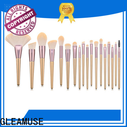 GLEAMUSE Wholesale cheap professional makeup brushes set factory for Beauty shop