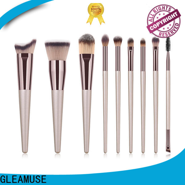GLEAMUSE Top good and cheap makeup brushes for business for women
