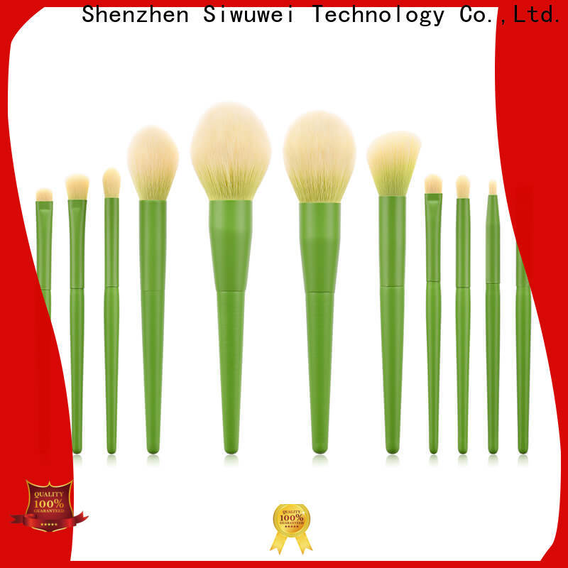 Top round makeup brush set factory for makeup artist