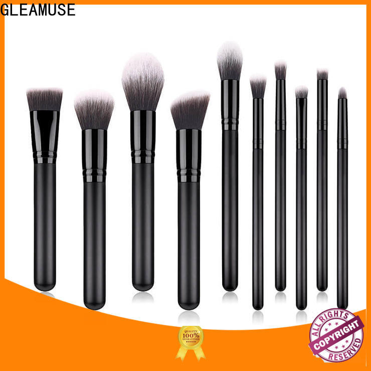 GLEAMUSE best basic makeup brush set for business used for face painting