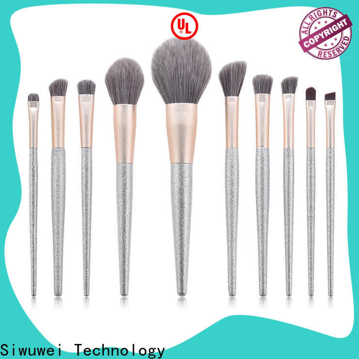 GLEAMUSE Wholesale good cheap makeup brush sets company for Beauty shop