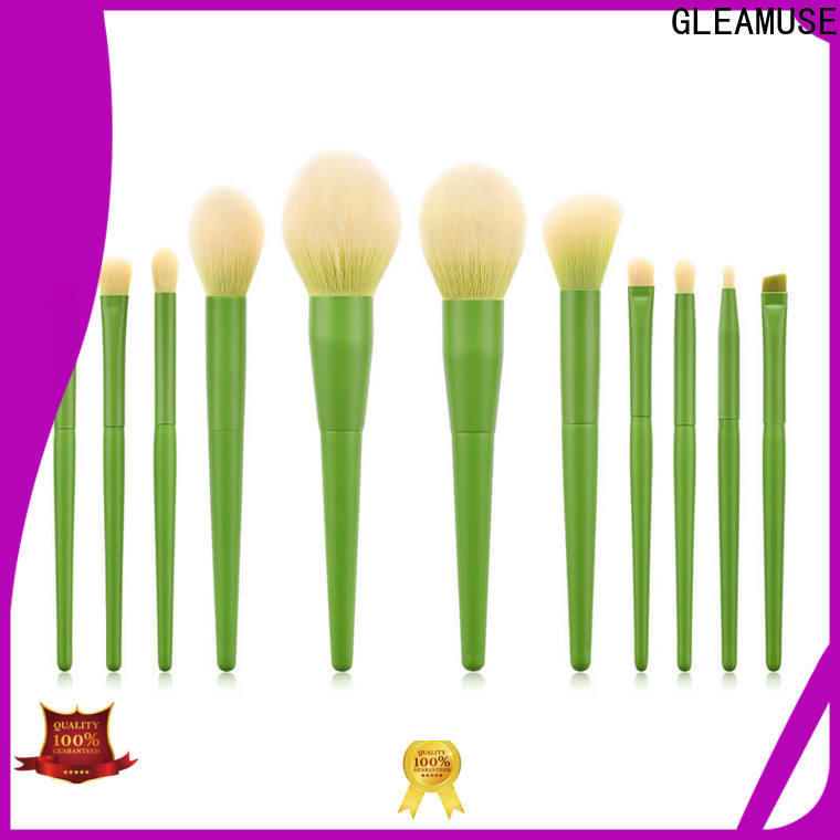GLEAMUSE Wholesale beautiful brush sets manufacturers for Beauty shop