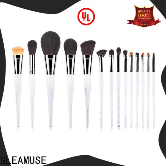 GLEAMUSE Custom best beauty brush sets Supply for makeup artist
