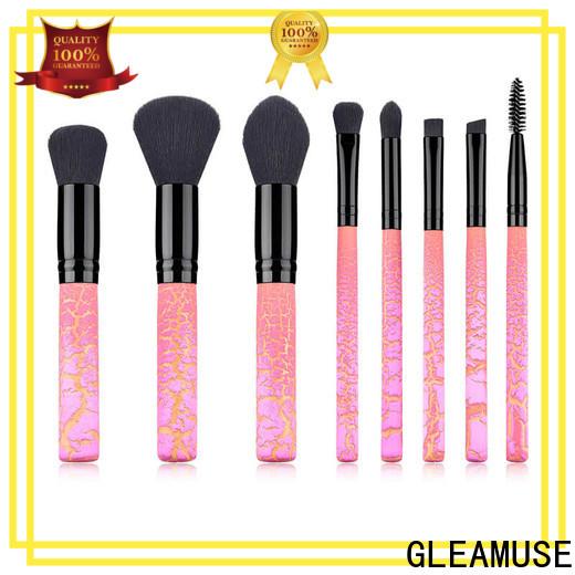 GLEAMUSE best affordable makeup brush set manufacturers for makeup artist