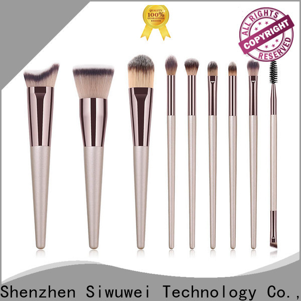 GLEAMUSE Top rose gold makeup brushes manufacturers for Beauty shop