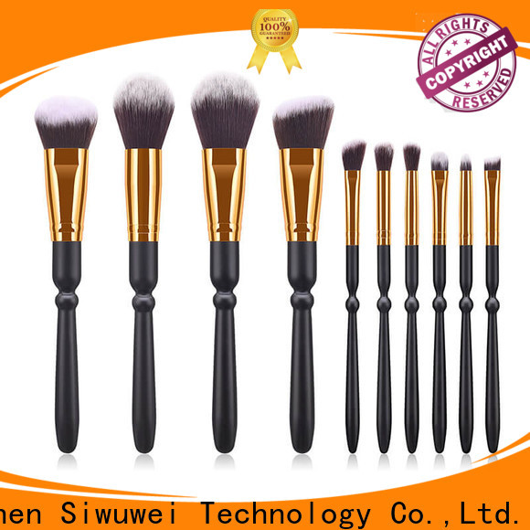 GLEAMUSE High-quality whole makeup brush set manufacturers used for face painting