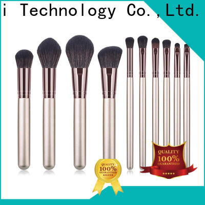 GLEAMUSE rose gold makeup brush set manufacturers used for face painting