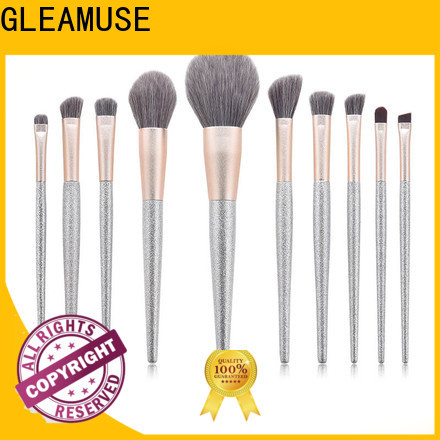GLEAMUSE Latest makeup brush set canada factory used for face painting