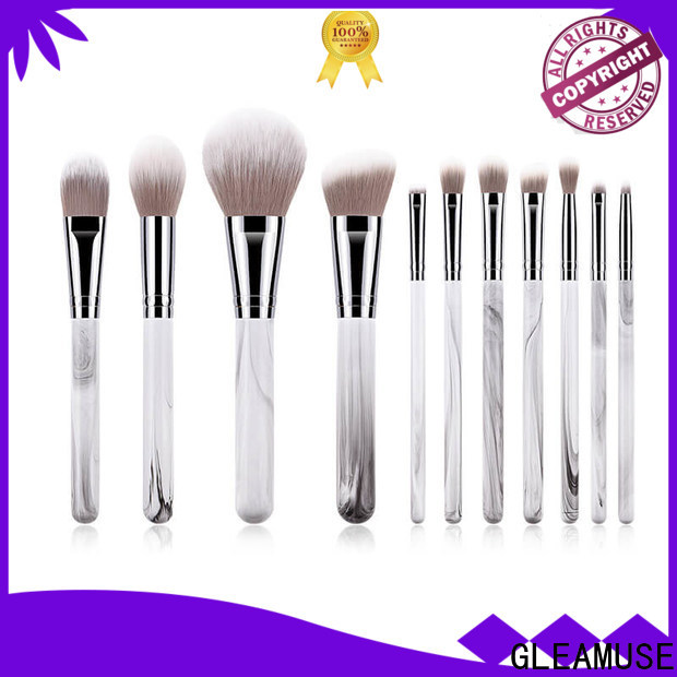GLEAMUSE makeup brush set in stores Supply for women