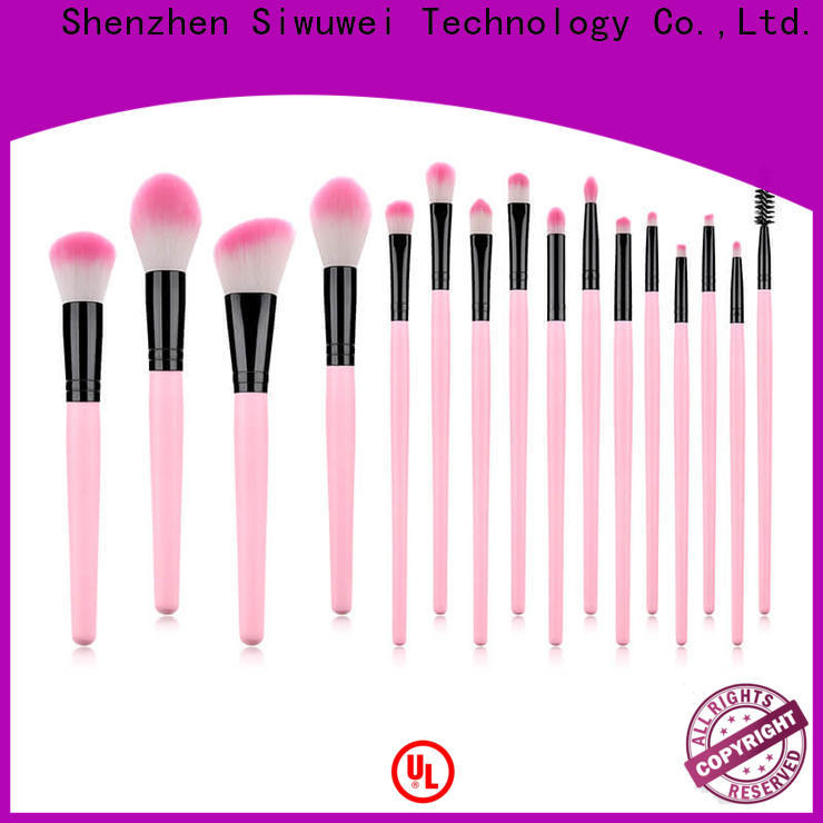 GLEAMUSE giant makeup brush set company for makeup artist