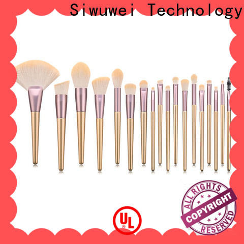 GLEAMUSE set of cosmetic brushes for business for makeup artist
