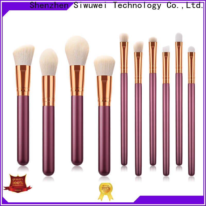 GLEAMUSE synthetic makeup brush set Supply for makeup artist