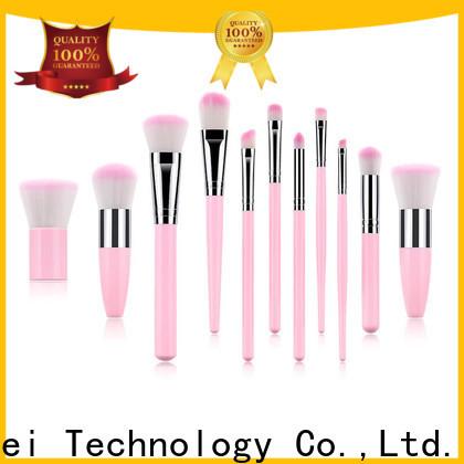 GLEAMUSE Custom gold makeup brushes Suppliers used for face painting