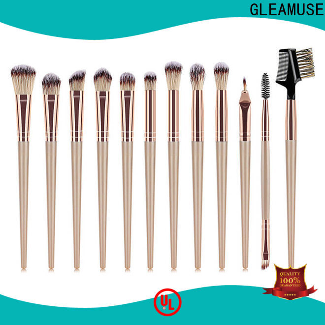 GLEAMUSE Custom eyeshadow and brush set Suppliers for makeup artist