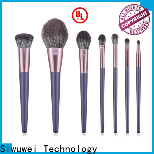 GLEAMUSE teal makeup brush set factory used for face painting