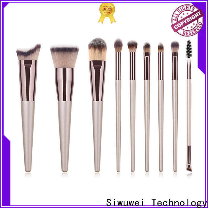 New cheap cosmetic brush sets Suppliers for makeup artist