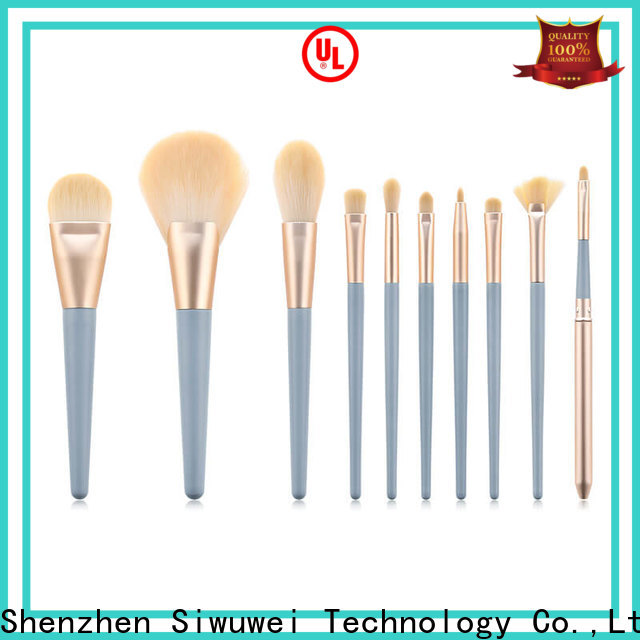 GLEAMUSE best oval makeup brush company used for face painting