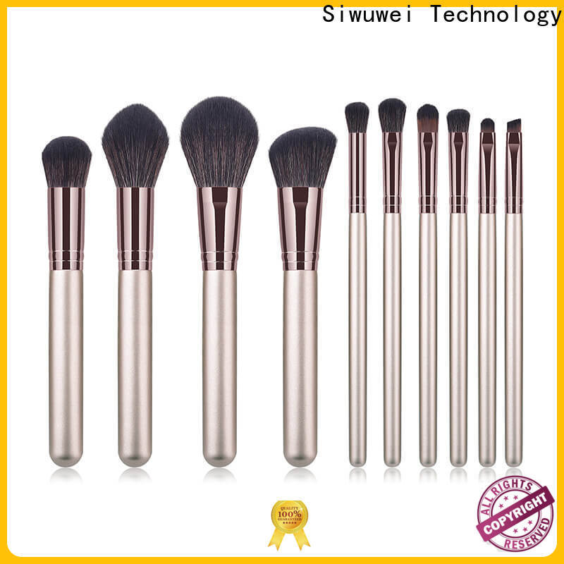 GLEAMUSE Latest cheap cosmetic brush sets factory for women